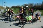 Liggecyklister ved Avedøre Havn